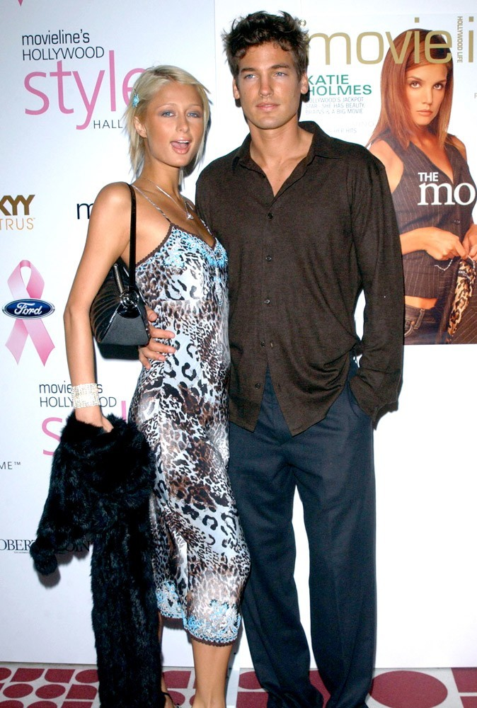 Photos : Paris Hilton en couple avec Jason Shaw entre 2001 et 2003