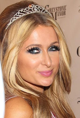 Paris Hilton à Los Angeles le 15 février 2014