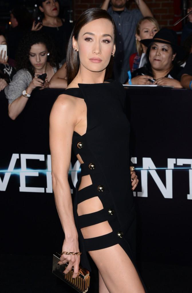 Maggie Q à la Première de Divergent à Los Angeles en mars 2014