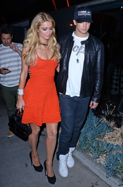 Paris Hilton et River Viiperi le 6 juin 2013 à Los Angeles