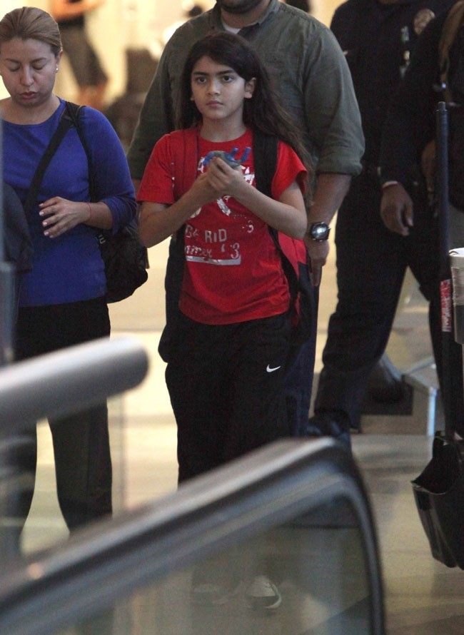 Blanket Jackson le 2 septembre 2012 à Los Angeles