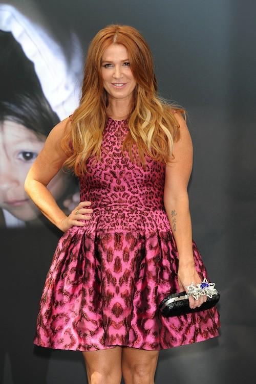 Poppy Montgomery au Festival de télévision de Monte-Carlo, le 13 juin 2015