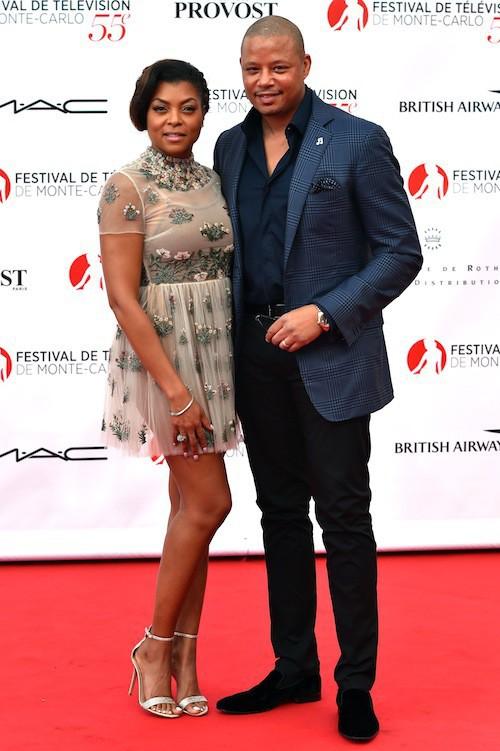 Taraji P. Henson et Terrence Howard au Festival de télévision de Monte-Carlo, le 13 juin 2015