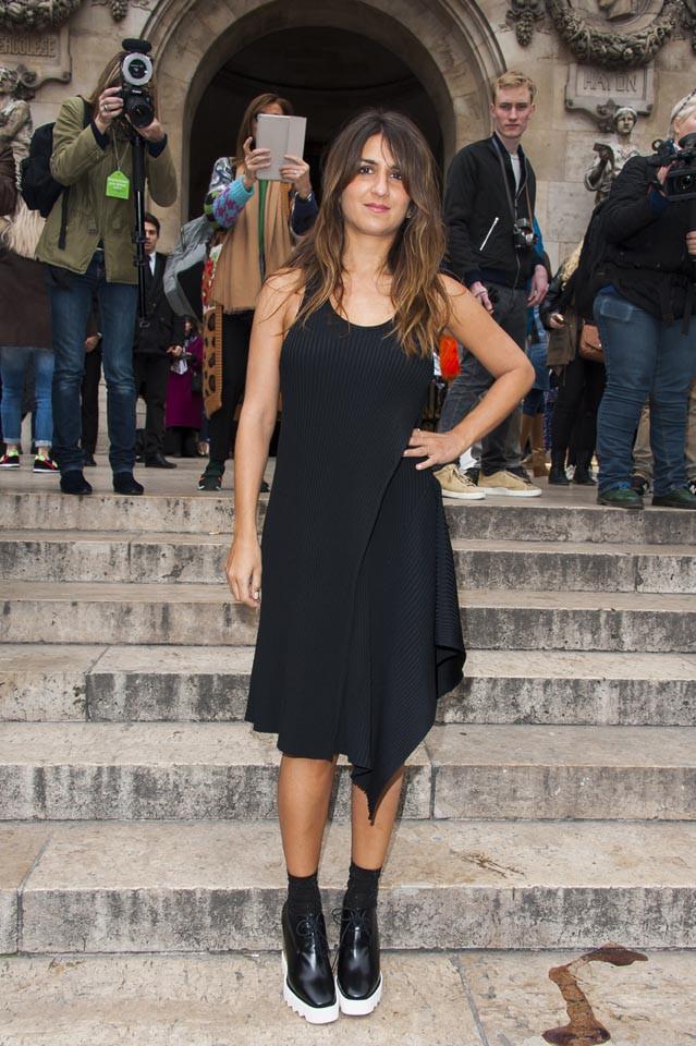 Géraldine Nakache à Paris le 9 mars 2015