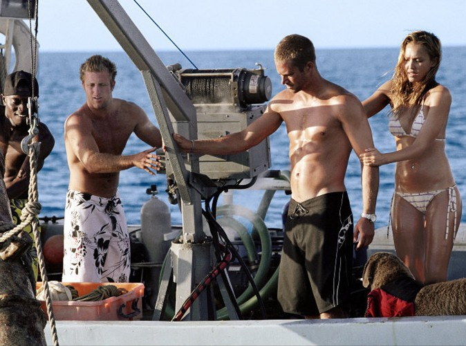 Paul Walker dans Bleu d'enfer !