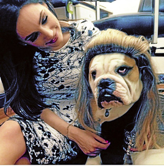 Kelly Brook : Vite, un psy pour son chien !