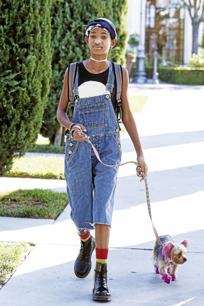 Willow Smith : elle voit la vie en rose !