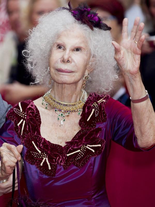 Princesse d'Alba (88 ans)