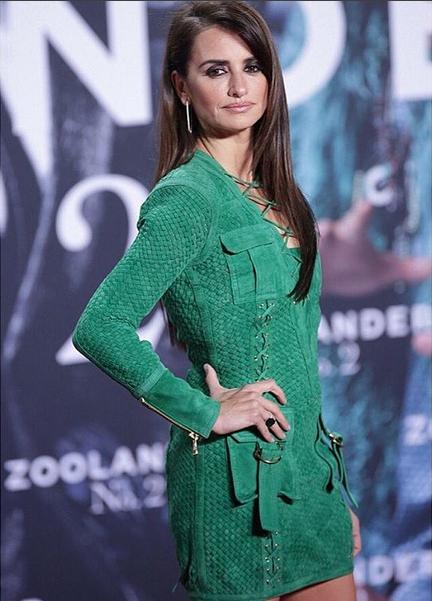 Photos : Penelope Cruz en Balmain à Berlin, pour la première de Zoolander 2