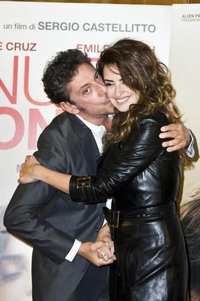 Penelope Cruz et Sergio Castellito le 5 novembre 2012 à Rome