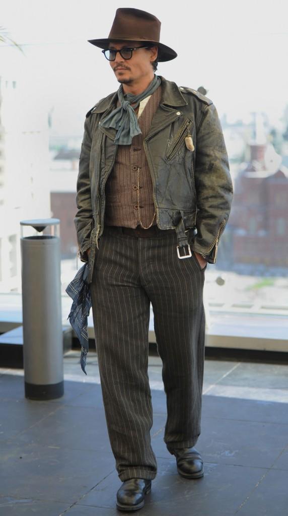 Johnny toujours en mode décontracté !
