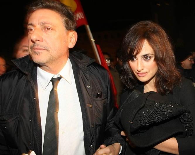 Penélope à son arrivée au Festival du Film de Turin !