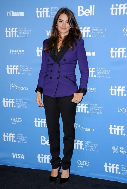 Penelope Cruz lors du photocall du film Twice Born à Toronto, le 13 septembre 2012.