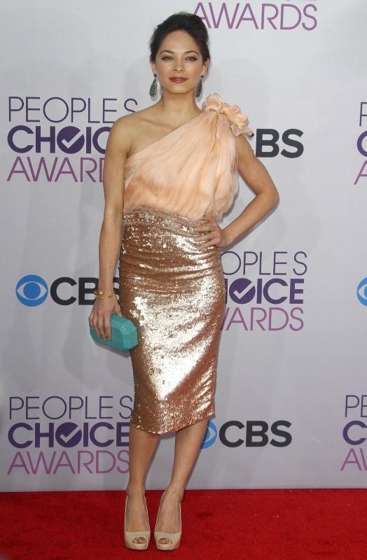 Kristin Kreuk lors des People's Choice Awards, le 9 janvier 2013.