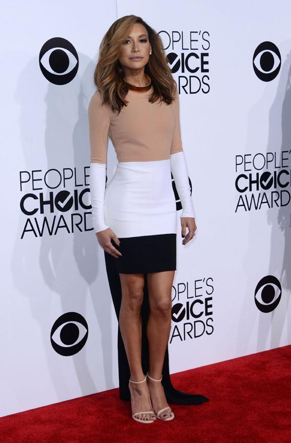 Naya Rivera à la cérémonie des People's Choice Awards organisée à Los Angeles le 8 janvier 2014