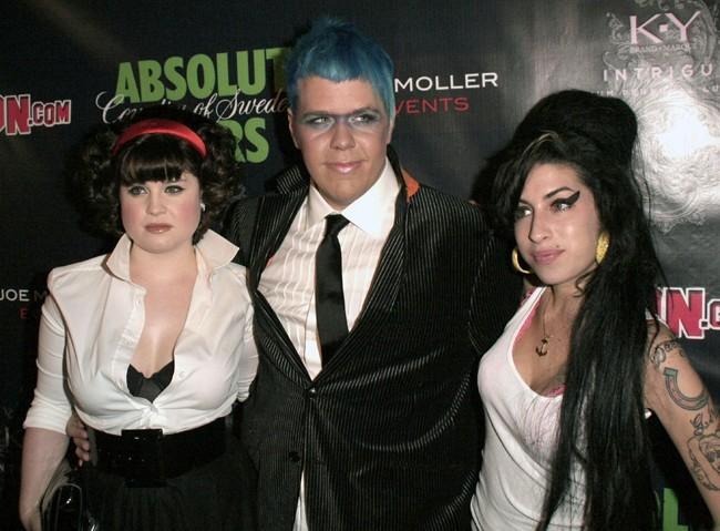 Avec Kelly Osbourne et Amy Winehouse !