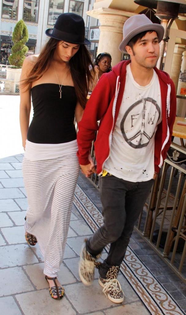 Pete Wentz et sa nouvelle girlfriend, Meagan Camper