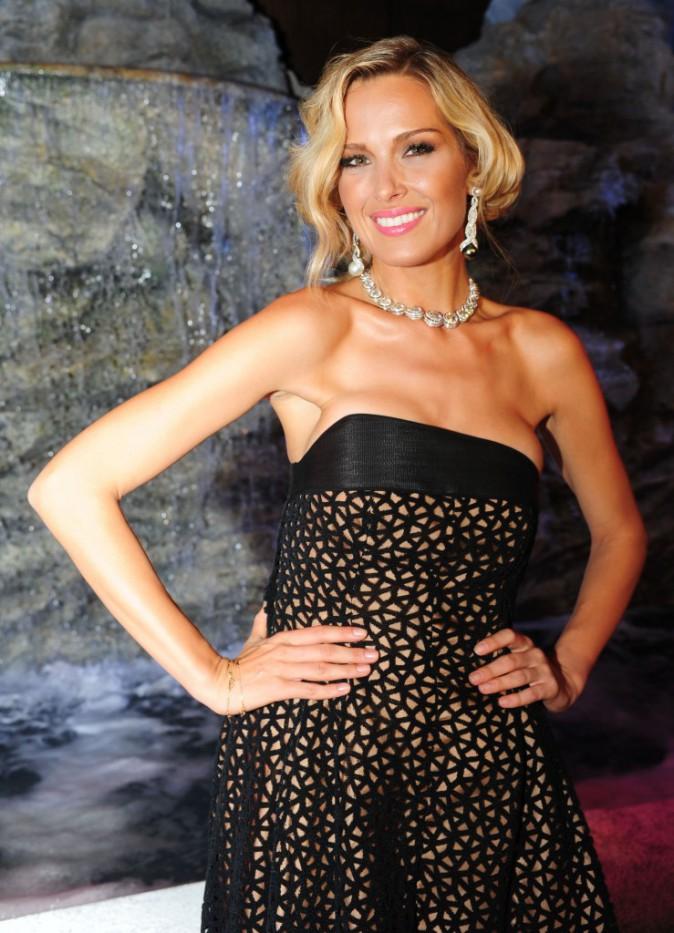 Petra Nemcova à la soirée Chopard le 3 août 2014