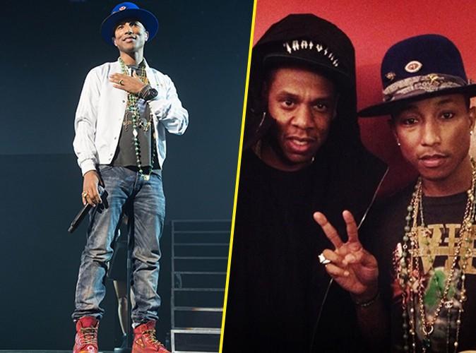 Pharrell Williams : Beyonc� et Jay-Z aux premi�res loges de son show parisien !