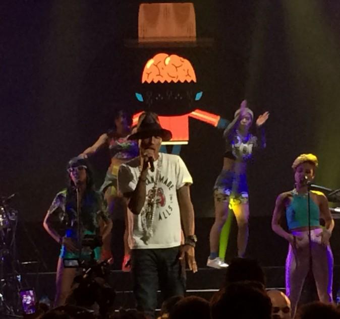 Pharrell Williams au Trianon pour le NRJ Music Tour !