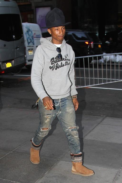 Pharrell Williams à New-York le 24 avril 2014