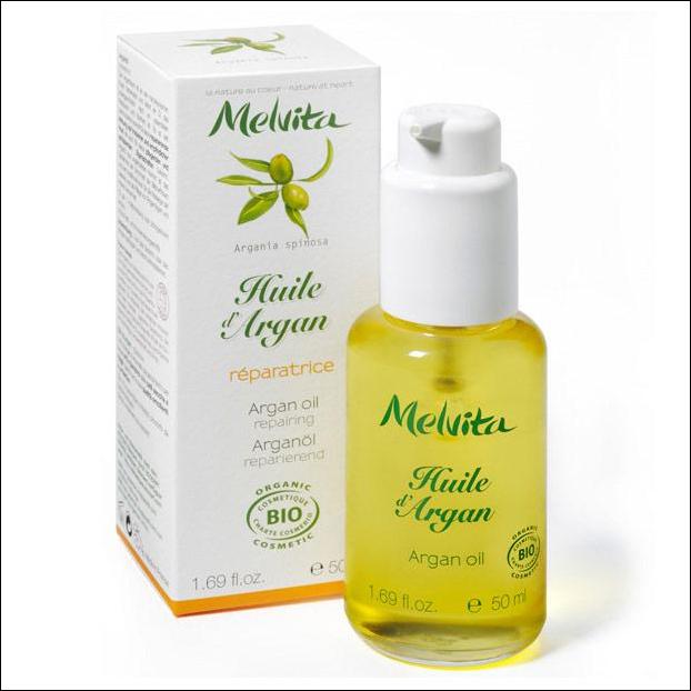 Huile d'argan Melvita pour les peaux sèches et fragiles : 10ml (12,50€)