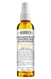 "Huile réparatrice ""Deeply Restorative Smoothing Hair Oil Concentrate"" by Kiehl's. (30€)"