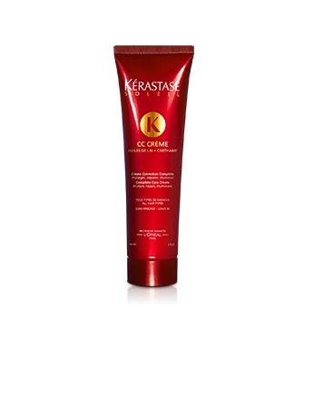 Kérastase– CC Crème : Une crème capillaire solaire, enrichie en huile de lin pour protéger, réparer et illuminer en un seul geste. 20,80€