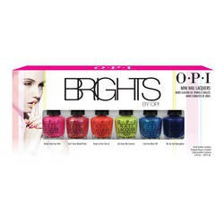 Kit vernis Collection Brights de O.P.I. (20€)
