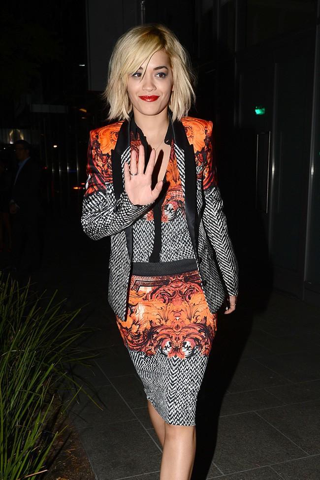 Rita Ora à Beverly Hills le 14 octobre 2013