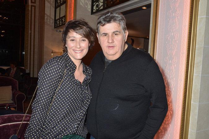 Daniela Lumbroso et Pierre Ménès à la Baule le 12 novembre 2015