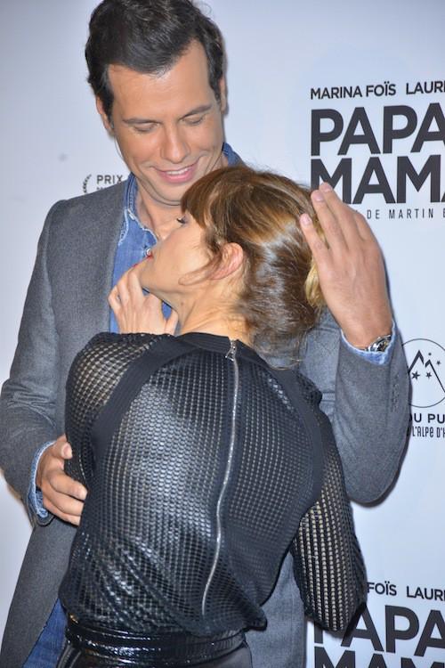 Photos : Pierre Niney et Natasha Andrews : trop sages face à Marina Foïs et Laurent Lafitte !