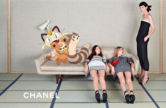 Chanel x Pokémon