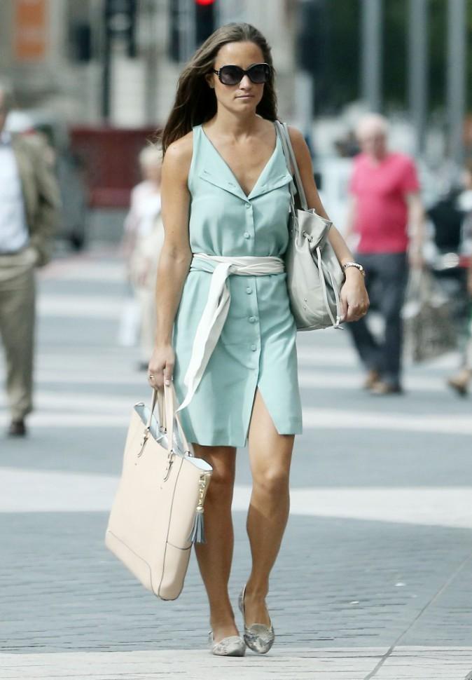 Pippa Middleton à Londres le 4 septembre 2013