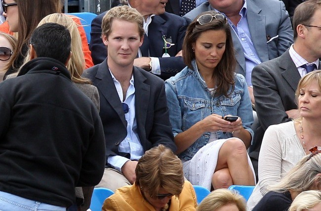 Pippa Middleton et son ex-boyfriend George Percy !