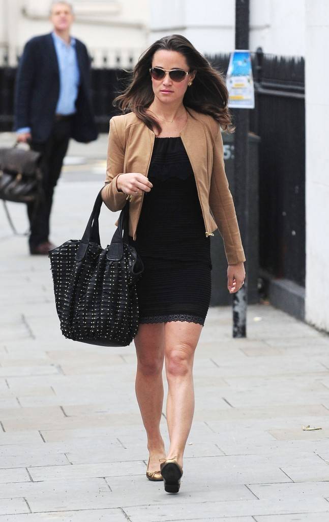 Pippa Middleton à Londres, le 13 octobre 2011.