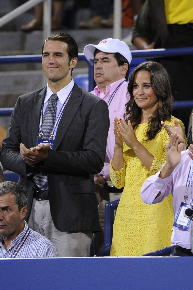 Pippa Middleton le 5 septembre 2012 à l'US Open, à New York