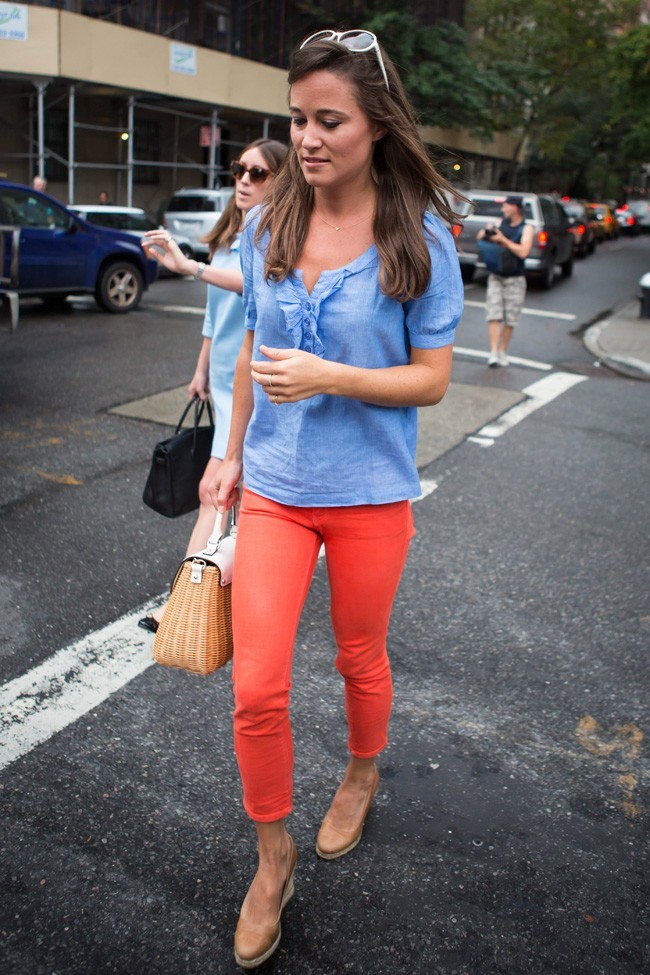 Pippa Middleton le 5 septembre 2012 à New York