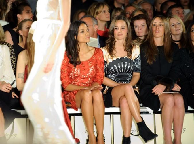 Pippa cotoie les grands noms de la mode !