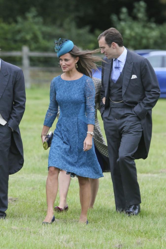 Photos : Pippa Middleton : fiancée ou pas... elle célèbre un mariage en compagnie du prince William et d'Harry !