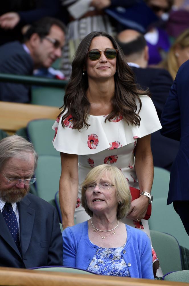 Photos : Pippa Middleton joue les belles de match à Wimbledon !