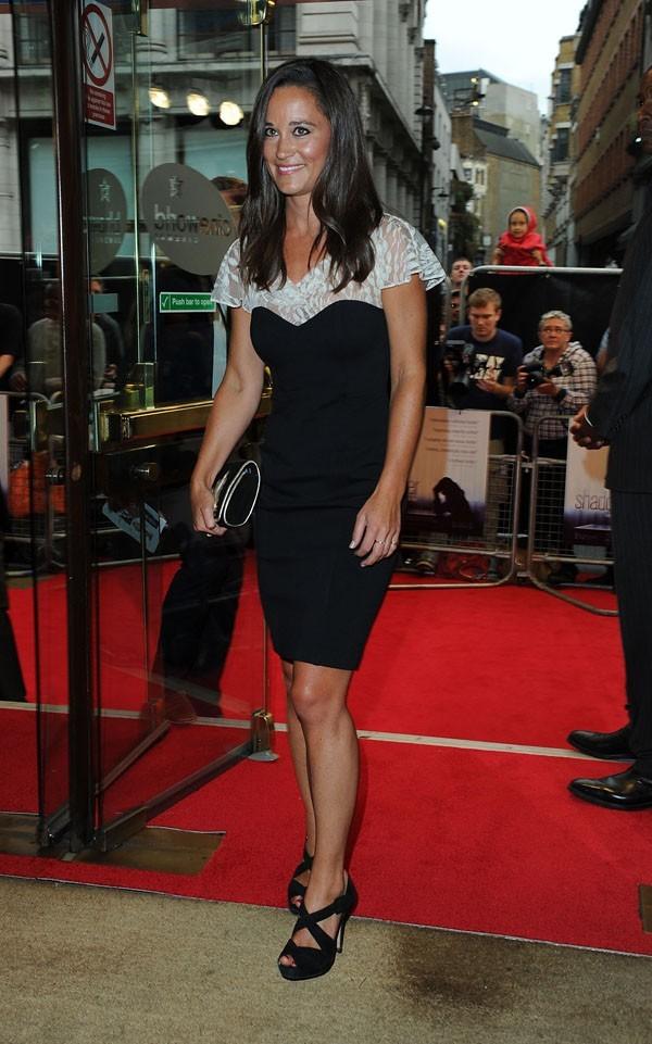 Pippa Middleton le 13 août 2012 à Londres