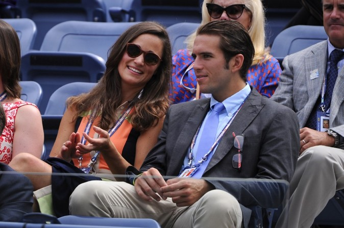 Pippa Middleton à l'US Open de New-York le 4 septembre 2012