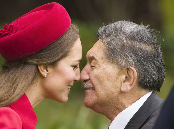 Photos : plus de 30 ans après, Kate Middleton joue les Lady Di en Nouvelle-Zélande !