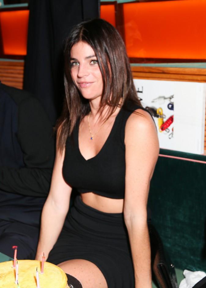 Julia Restoin-Roitfeld à la soirée de lancement Solid & Striped, à New York le 12 novembre 2014