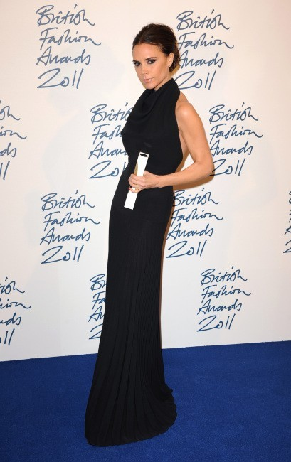 A la British Fashion Awards en 2011