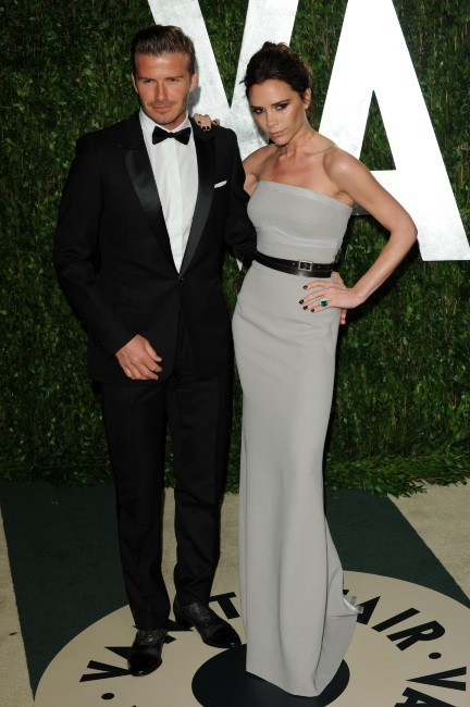A la Vanity Fair Award Party avec David