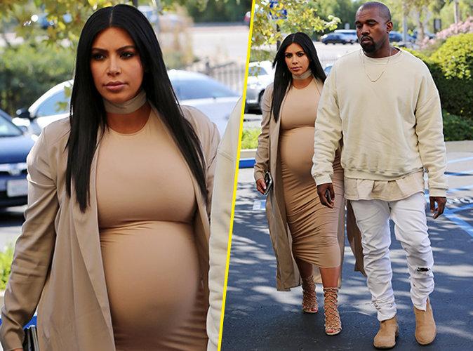 Kim Kardashian et Kanye West le 21 octobre 2015