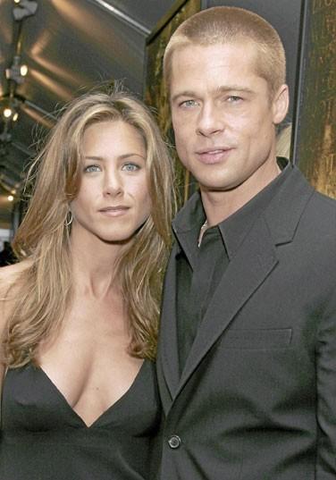 Photos : Jennifer Aniston et Brad Pitt, un couple amoureux