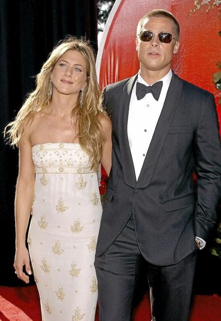 Photos : Jennifer Aniston et Brad Pitt, un couple chic